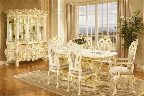 Lexington Dining Room Set by French Provincial Dining 755 Baroque Dining Tables