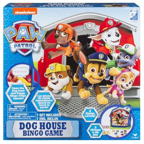 dog house games paw patrol dog house bingo game walmart ca