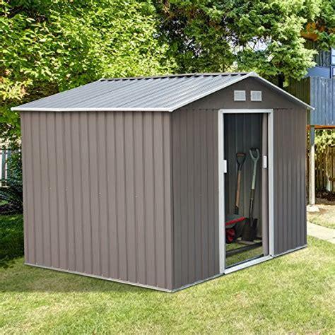 backyard storage shed kits 9 x6 storage shed outdoor garden backyard garage sheds kit tools barn glow