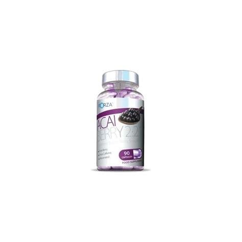 Acai Berry Detox Cleanse Pills by Forza Acai Berry 2 2 1 Detox Diet Pills 90 Capsules