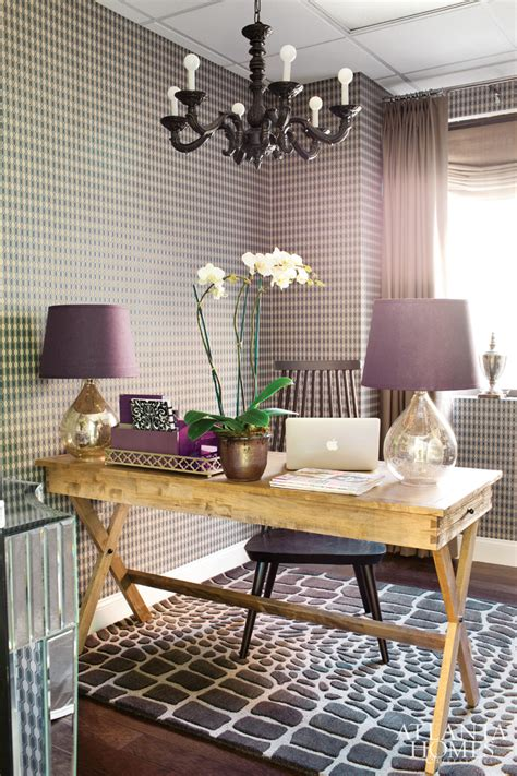 purple office decor purple rustic glamour glam home office office