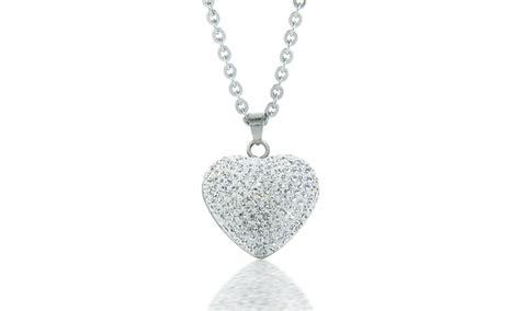 Swarovski Elements Necklace pendant necklace with swarovski elements