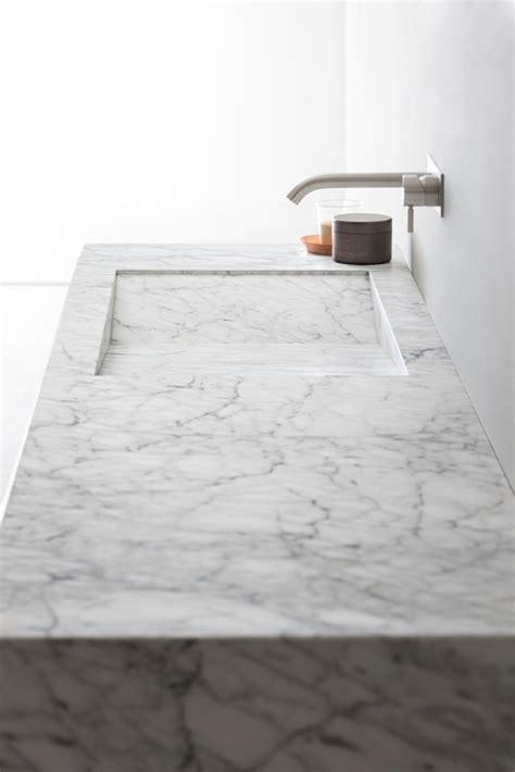 Corian Marmor by D Taglio Carrara Marble Washbasin By Rexa Design Design