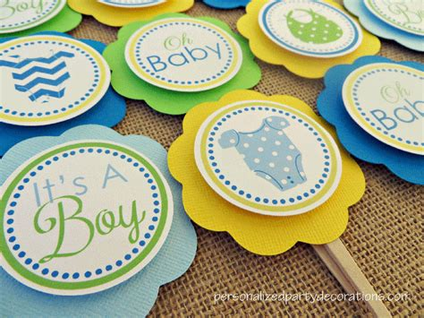 Baby Shower Onesie Cupcakes by Onesie Baby Shower Cupcake Toppers