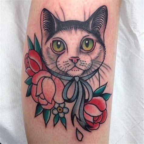 cat tattoo neo electrictattoos cassandra frances tattoo ideas