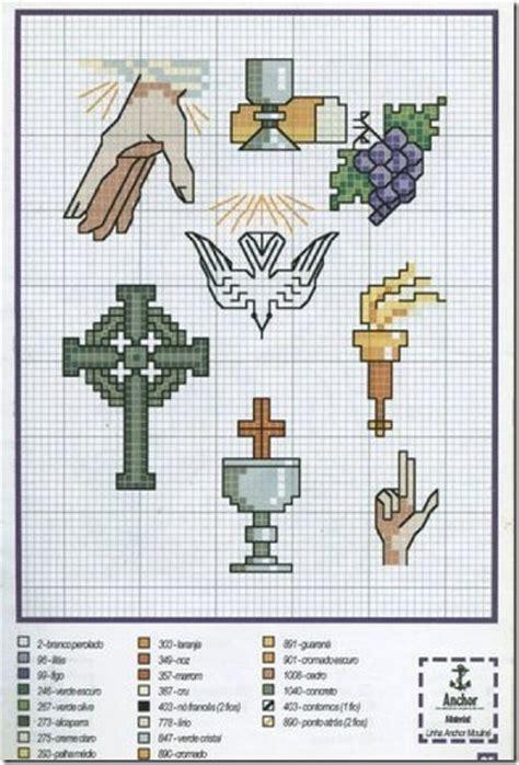 imagenes catolicas en punto de cruz punto de cruz primera comuni 243 n