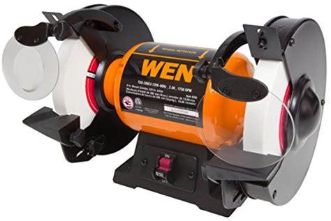 8 slow speed bench grinder wen 4286 8 inch slow speed bench grinder new ebay