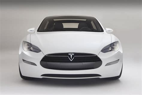 Electric Car Tesla Tesla Model S 50 000 Electric Car That Seats Seven
