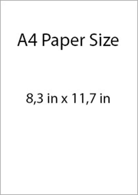 letter size paper usa and canada paper sizes