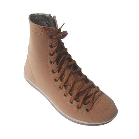Gambar Sepatu Boot Dan Nya jual v33 sepatu boots khaki brown sepatu boot wanita