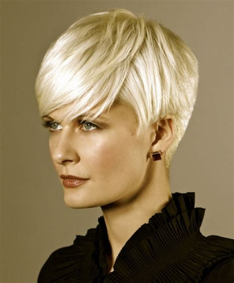 very short hair styles with center part very short hairstyles 2012 alslesslethal com