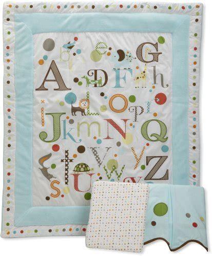 Migi 3 Piece Crib Set Alphabet Baby Kids Zone Migi Alphabet Crib Bedding