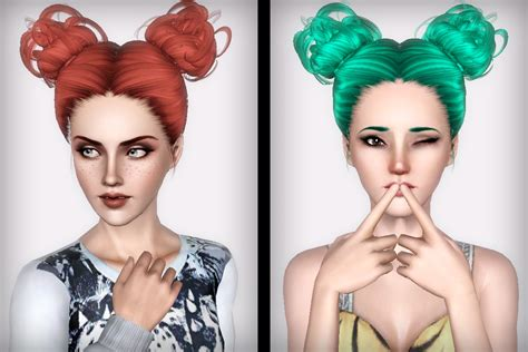 hair bun download two curly bun hairstyle newsea s cauliflower retextured by