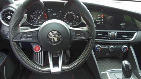 Alfa Romeo Interior by 2017 Alfa Romeo Giulia Interior