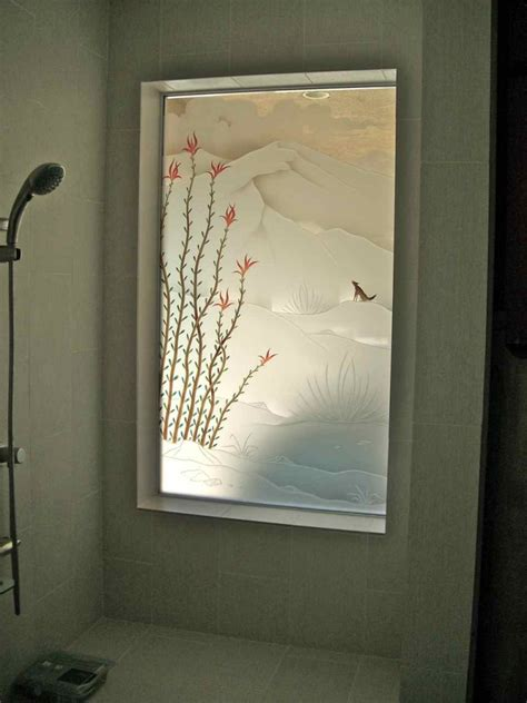 Etched Glass Windows And Doors Etched Glass Window Sans Soucie Glass