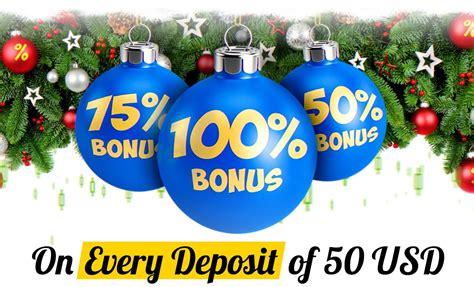new year promotion justforex 50 75 and 100 new year deposit bonus
