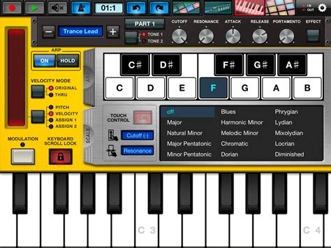 drum pattern app yamaha synth arp drum pad v1 1 midifanǹע