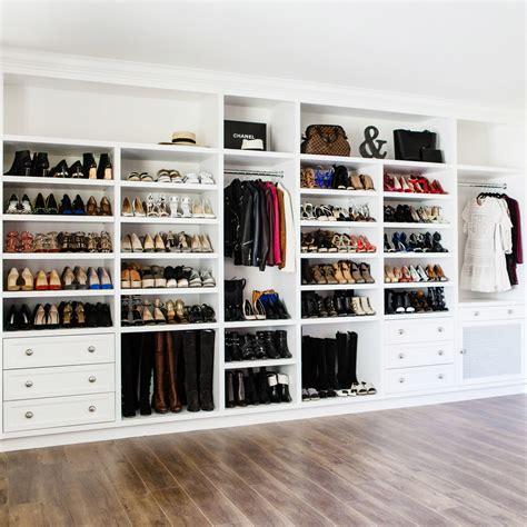 How To Build A Shoe Closet by New Closet Fitfabfunmom