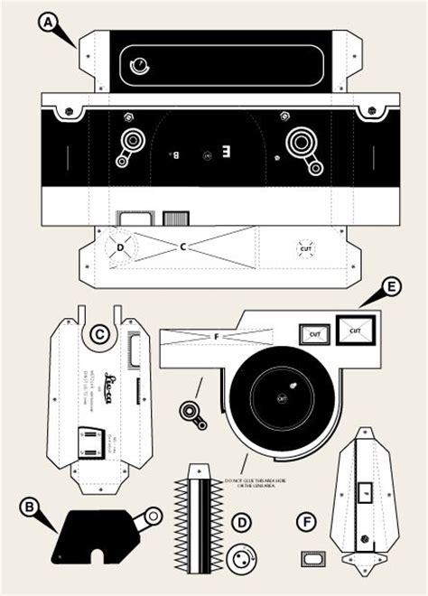 lieca m3 pinhole camera template photo gear and camera