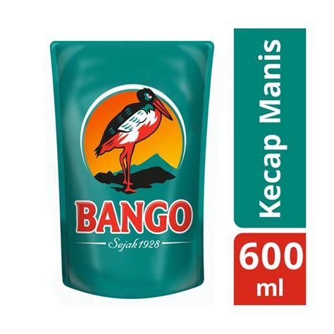 Harga Kecap Bango 600 Ml jual bango kecap manis pouch 600 ml 62010050