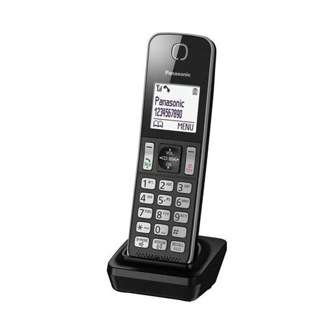 Panasonic Kx Tgb110 Telpon Wireless Cordless Phone 1 panasonic kx tgda30 eb additional handset black