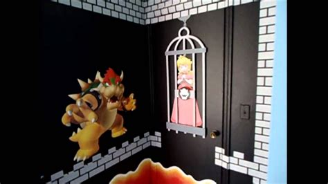 Bedrooms Decorating Ideas by Super Mario Theme Bedroom Youtube