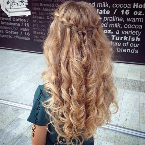 Half Up Half Hairstyles For Prom by 31 Half Up Half Prom Hairstyles Stayglam