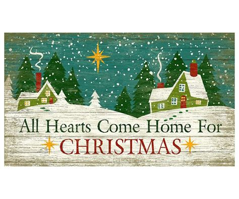 custom all hearts come home for christmas vintage style