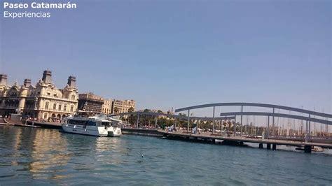 eco catamaran barcelona viaje en eco catamar 225 n youtube
