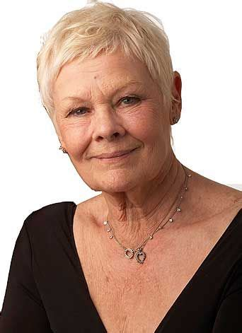how to cut judi dench bangs 11 best hair hero judi dench images on pinterest hair