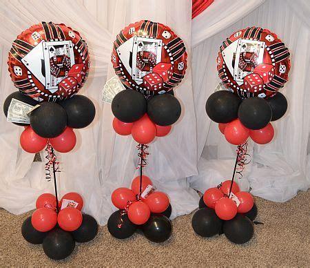 Casino Balloon Decor