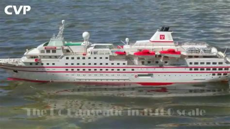 rc boats sinking youtube cvp robbe hanseatic rc cruise ship by vasilis youtube