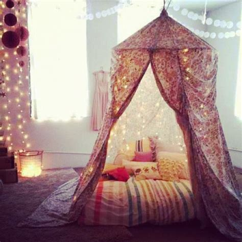 bedroom with lighted canopy tumblr bedroom canopy twinkle the cozy bedroom