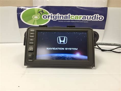 security system 2010 honda ridgeline navigation system 06 07 08 09 10 honda ridgeline navigation gps display screen navi lcd black a421 ebay