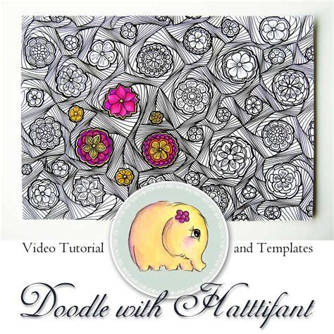 doodle swirl pattern doodle with hattifant flower swirl pattern hattifant