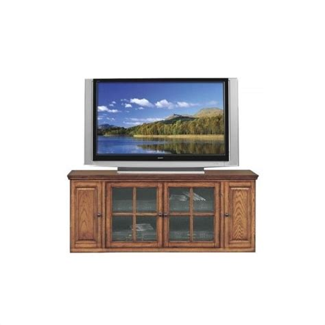 tv stand in middle of room leick furniture 62 quot tv stand with storage in burnished oak