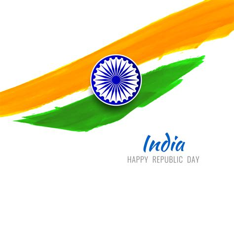 abstract modern indian flag theme design background