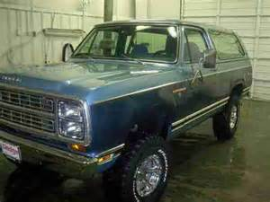 1979 Dodge Charger For Sale Buy Used 1979 Dodge Ramcharger 4wd In Cosby Tennessee