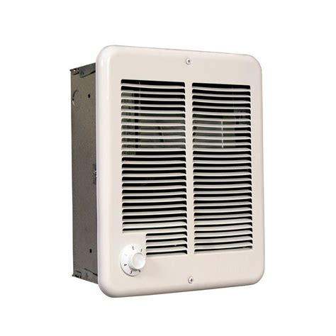 Heaters Home Depot fahrenheat 1500 watt small fan forced wall heater ffh1612