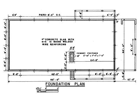 house foundation plans ideas home building plans 1525