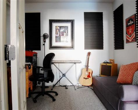 inspiring home recording studio design industrial home