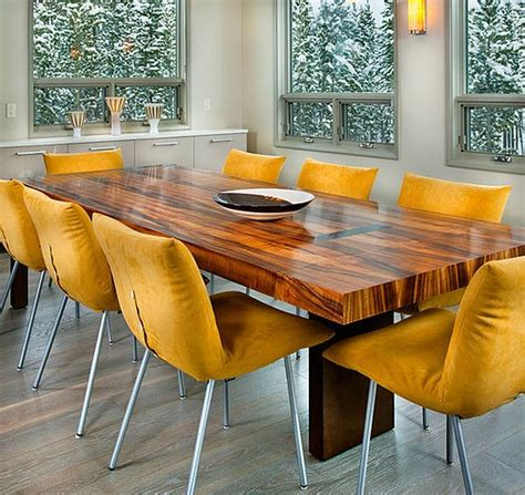 yellow dining room table dining room concept yellow dining chairs looks perfect
