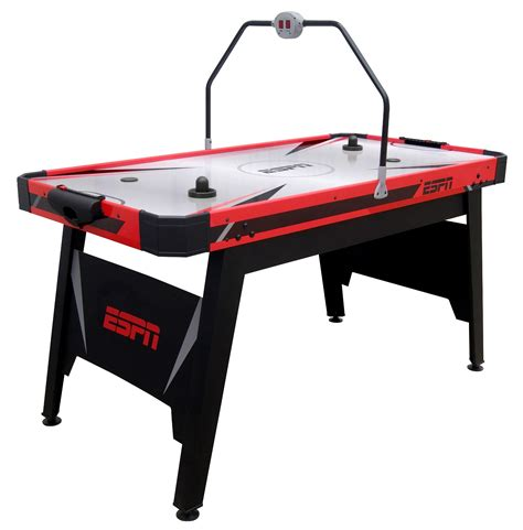 espn air hockey table espn 60 air hockey table shop your way shopping