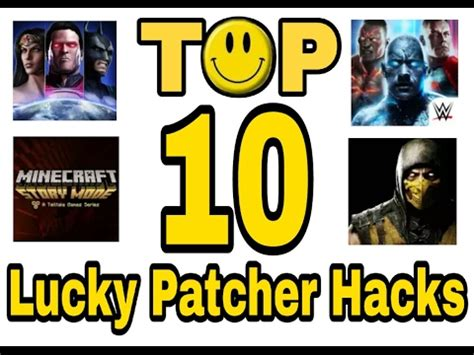 mod game with lucky patcher top 10 games you can hack with lucky patcher youtube