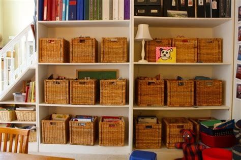 ikea basket ikea for homeschool organization update hodgepodge