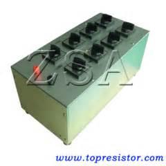 high power resistor box 25w 3000w bci series adjustable resistor bci manufacturer from china shenzhen zenithsun