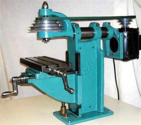 Handmade Machines For Sale - duro benchmaster milling machines vintage machines