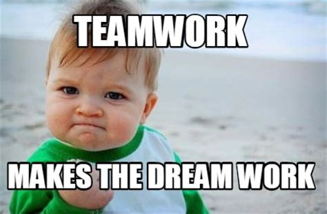 Teamwork Makes The Dreamwork Meme - meme creator go get em penguins meme generator at