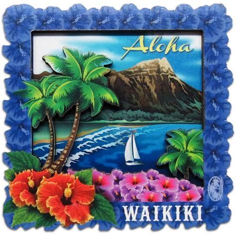 waikiki souvenir magnet
