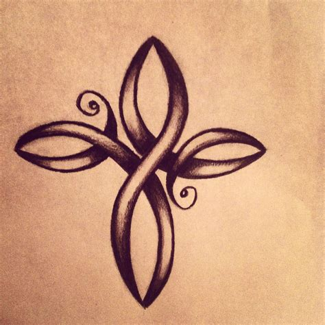 infinity cross tattoo designs pin simple celtic cross designs on